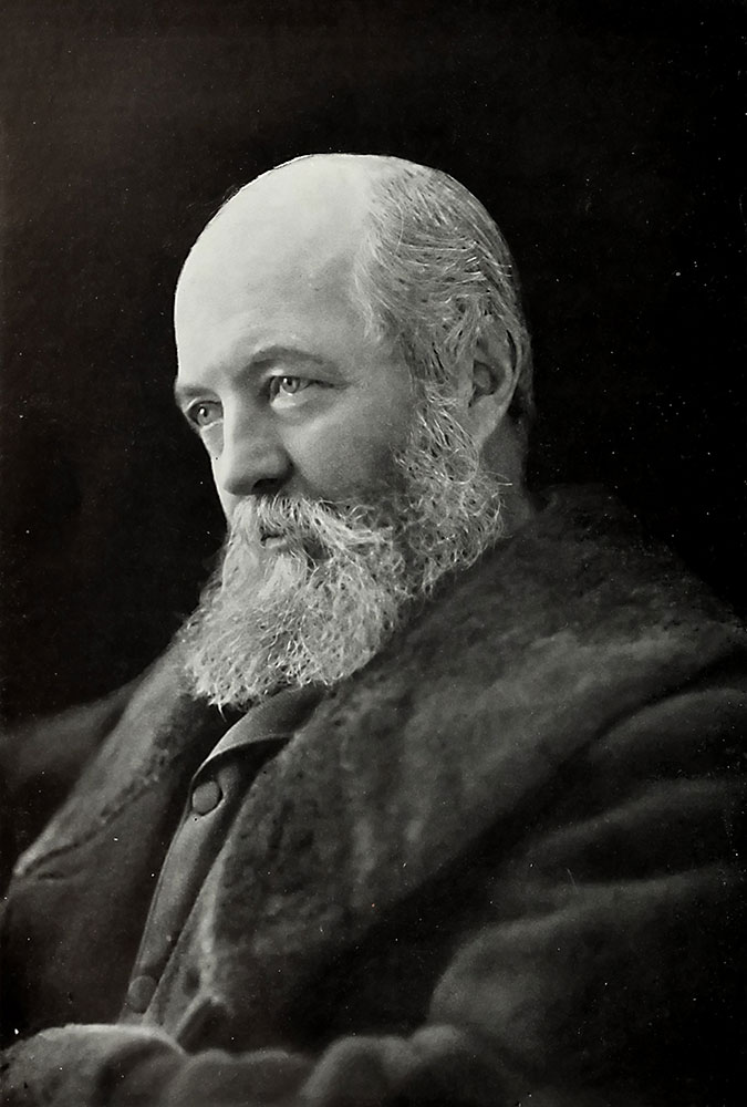 Frederick Law Olmsted (26 april 1822 - 28 augustus 1903)